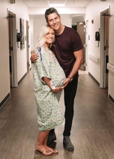 Arie Luyendyk Jr. and Lauren Burnham in the Hospital