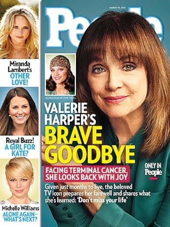 Valerie Harper People Cover