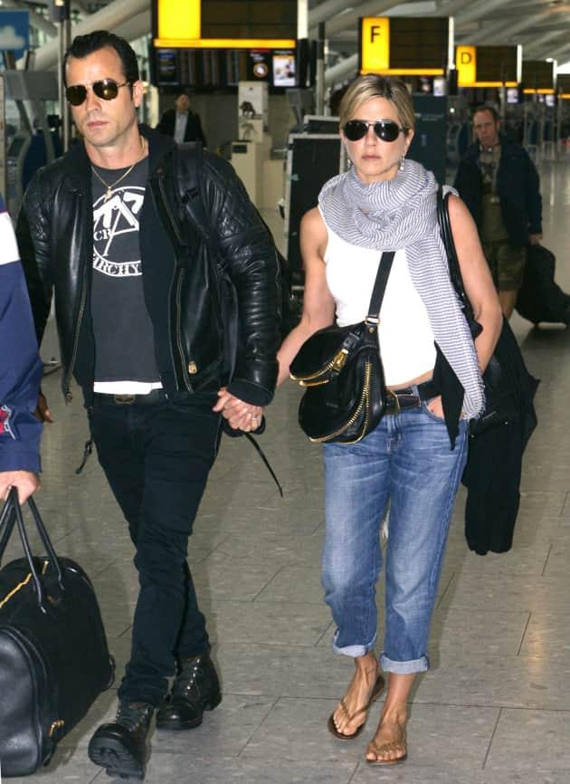 Jennifer Aniston and Justin Theroux Sighting!