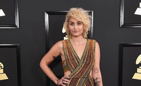 Paris Jackson at 2017 Grammys