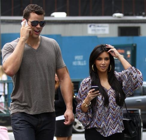 Kris Humphries and Kim Kardashian Together