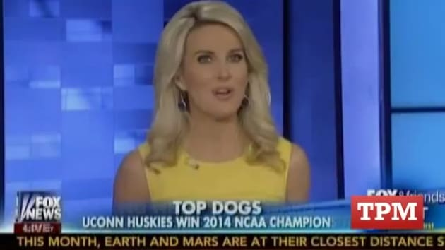 Fox Amp Friends First Anchor Refers To Uconn As Quot Naacp