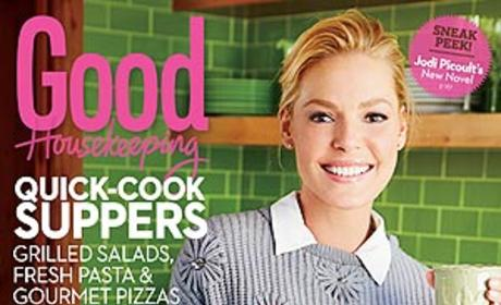 Katherine Heigl Good Housekeeping Cover