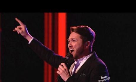 Luke Wade - Let's Get It On (The Voice Playoffs)