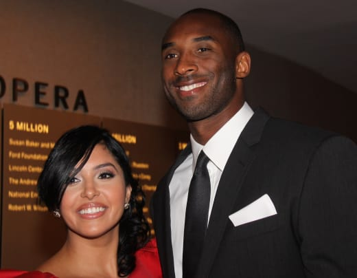 Vanessa and Kobe Bryant