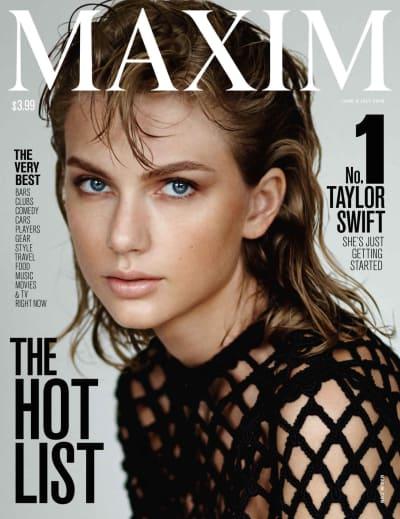 Taylor Swift Maxim Cover