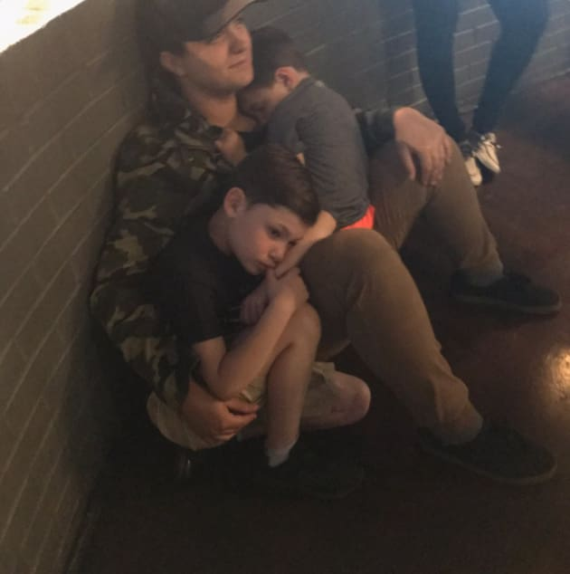 Becky Hayter With Kailyn Lowry's Sons
