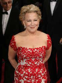 Bette Midler at the Oscars