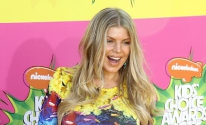 Fergie Baby Bump: On Display at Kids Choice Awards