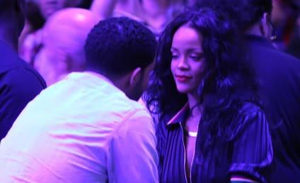 Rihanna and Drake Get Close at Clippers Game