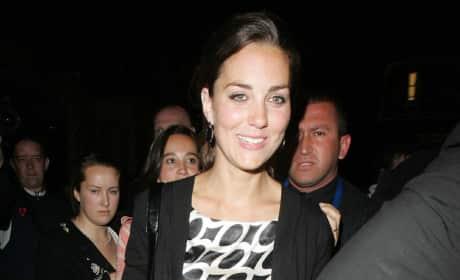 Kate Middleton Leaves Boujis In May 2007