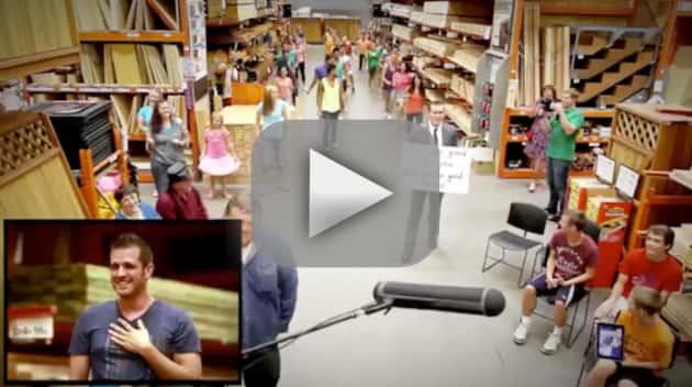 Home Depot Flash Mob Proposal