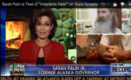 Sarah Palin on Phil Robertson Scandal: Stop with the Intolerance!