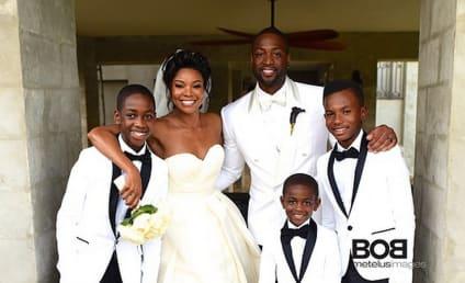Gabrielle Union Wedding Dress: FIRST LOOK!