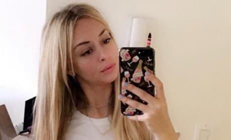 Corinne Olympios Mirror Selfie