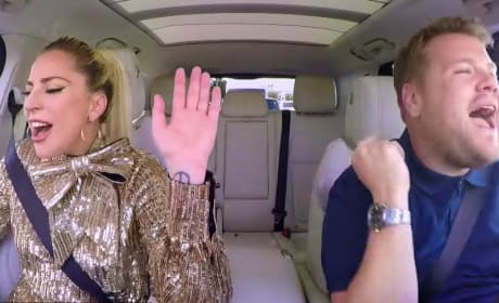 Lady Gaga and James Corden