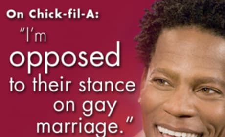 D.L. Hughley and Chick-fil-A