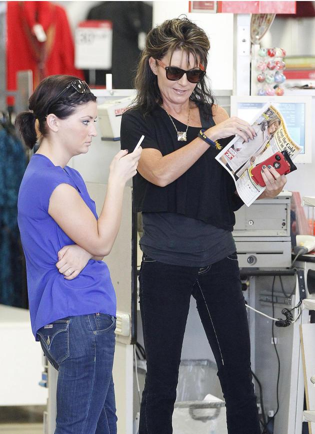 Sarah and Willow Palin