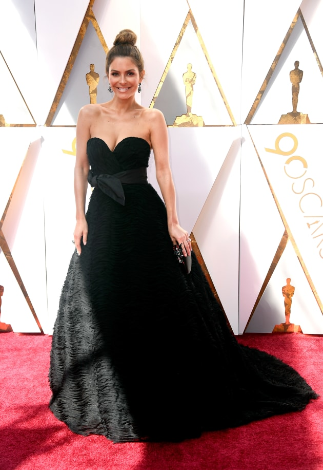 Maria Menounos at 2018 Oscars - The Hollywood Gossip