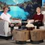 Justin Bieber with Ellen