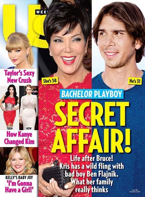 Kris Jenner and Ben Flajnik Cover