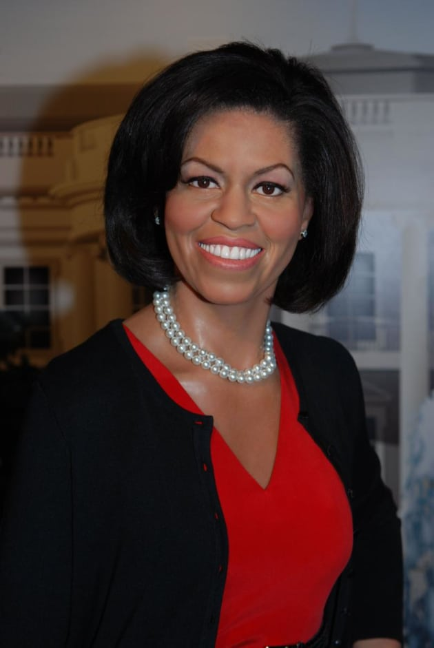Michelle Obama Wax Figure