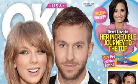 Taylor and Calvin Ok! Mag