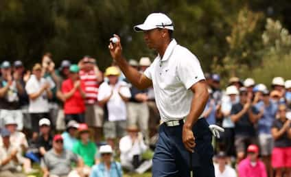 Tiger Woods: Not Dead Despite Twitter Hoax, Actually Leading Golf Tournament!