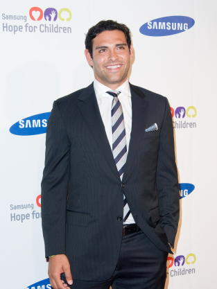 Mark Sanchez on the Red Carpet