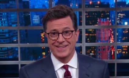 #FireColbert Campaign Breaks Out Over Host's Trump Joke