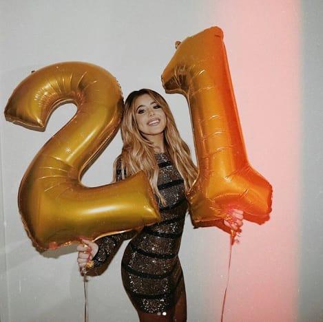 Brielle Biermann, 21st Birthday
