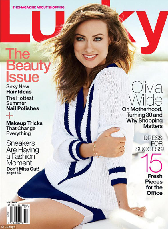 Olivia Wilde Lucky Cover