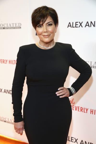 Kris Jenner at a Gala
