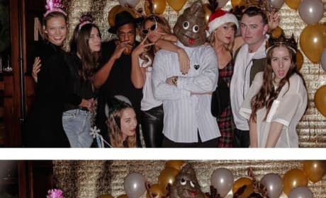 Partying with Taylor Swift