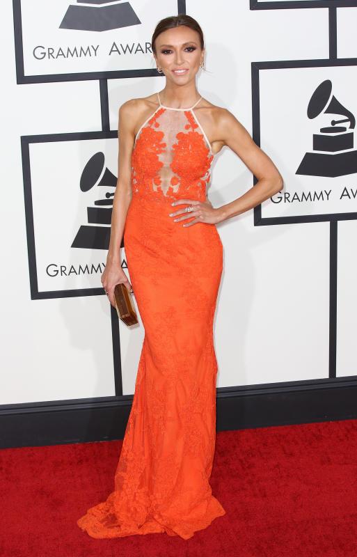 Giuliana Rancic at the 2014 Grammys