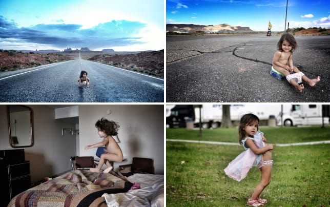 2 year old poses in states of undress inappropriate or artistic