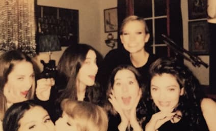 Taylor Swift Smooches Selena Gomez in Sweet Instagram Photo