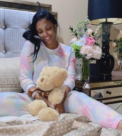 Porsha Williams at Home