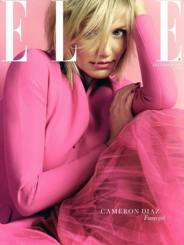 Cameron Diaz for Elle