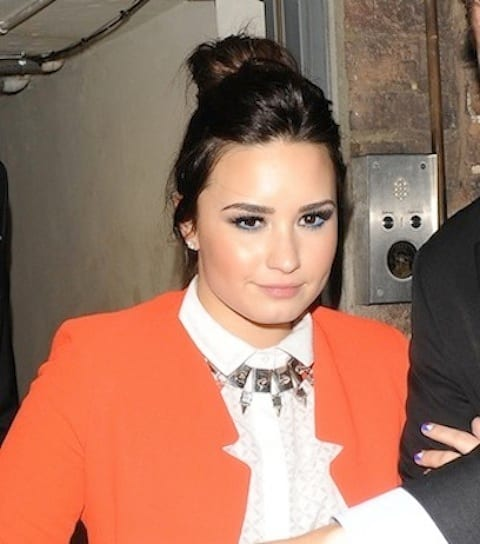 Demi Lovato Close Up