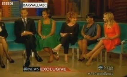 Obamas Visit The View, Talk Politics & Hannah Montana