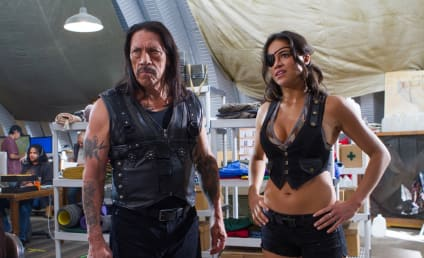 Machete Kills Pic: Michelle Rodriguez Rocking the Denim Vest