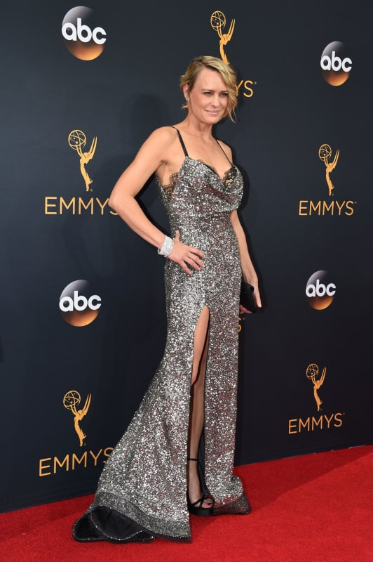 Robin Wright at the Emmys