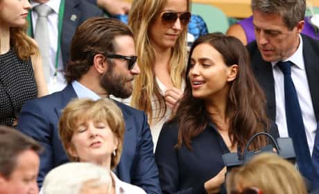 Irina Shayk ad Bradley Cooper