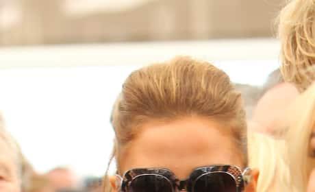 Katie Price with Glasses