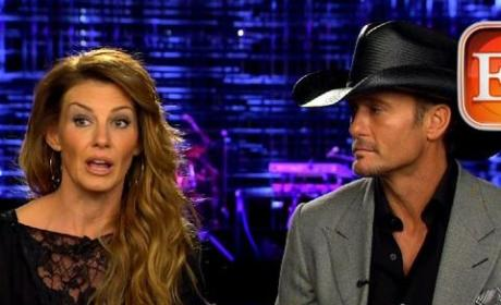 Tim McGraw and Faith Hill Interview