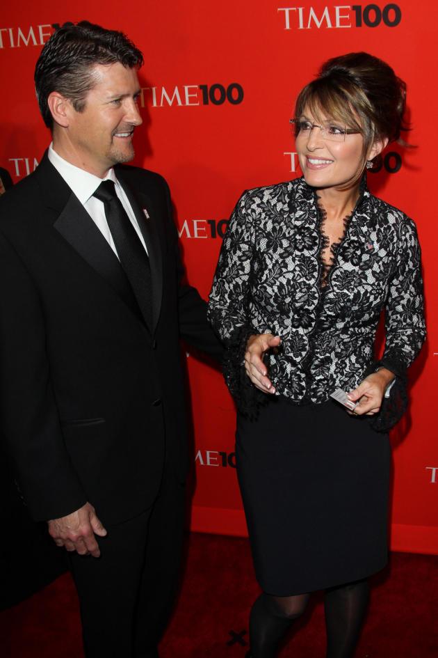 Sarah Palin and Todd Palin Pic