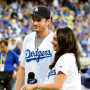 Mila Kunis and Ashton Kutcher: Go Dodgers!