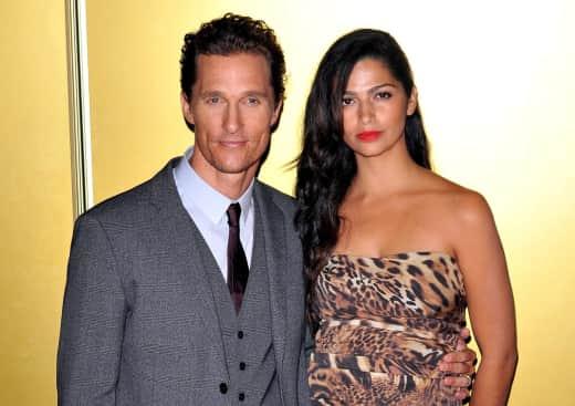 Matthew McConaughey and Camila Alves Image