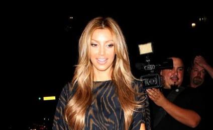 Kim Kardashian Goes Blonde, Space-Aged